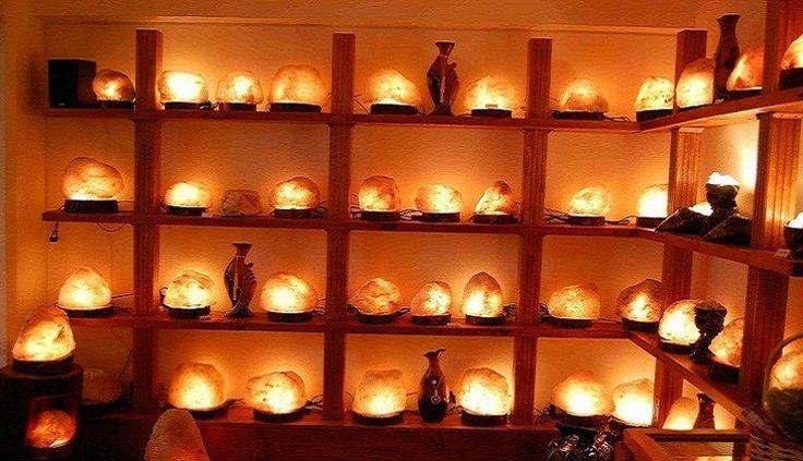 Galería de variedades de Lamparas de Sal que tenemos en venta!