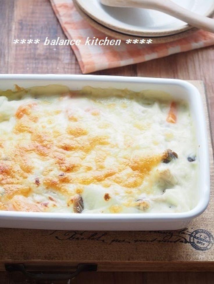 ダイエットに!根菜ときのこの豆乳グラタン by 河埜 玲子 | レシピサイト「Nadia | ナディア」プロの料理を無料で検索