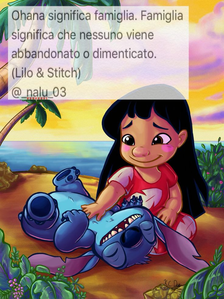 Lilo e Stich FRASI ANIME Pinterest
