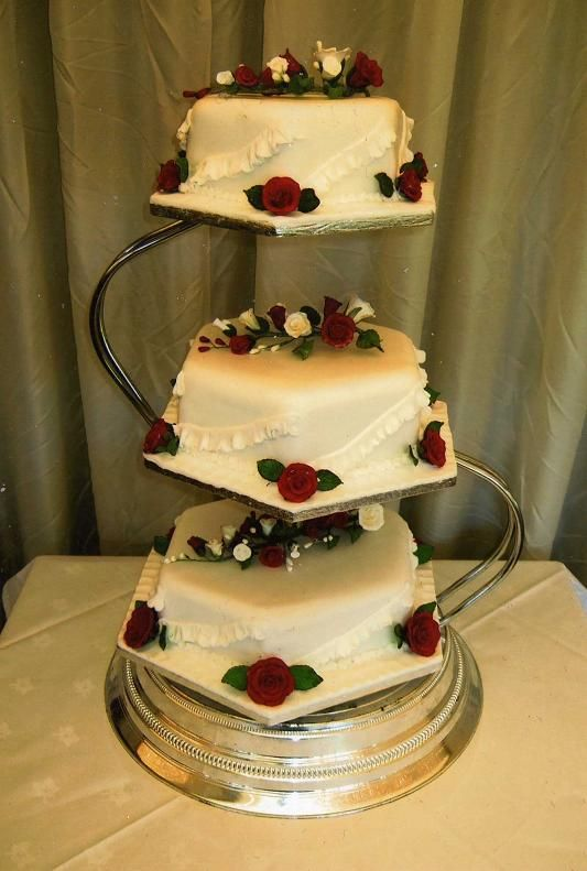 18 best Wedding Cake images on Pinterest | Conch fritters, Kitchens ...