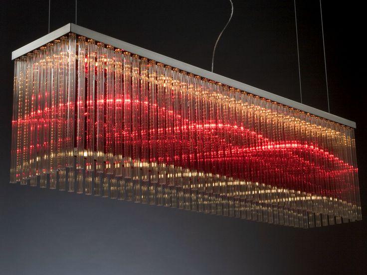 Halogen glass pendant lamp ALISTAIR 182 - @quasarholland