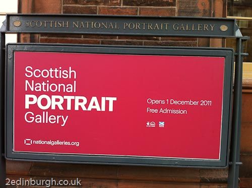 Edinburgh - December short breaks No7- #Edin365 A visit to the Scottish National Portrait Gallery is a great way to spend a day. Situated in Queen Street just of St Andrews Square and within walking distance from Craigwell Cottage www.2edinburgh.com