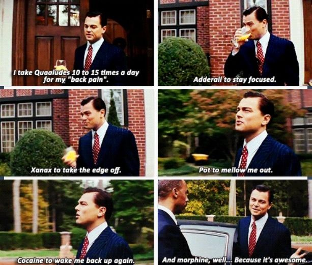 Wolf of Wall Street | Movie Quotes. | Pinterest | Wolves, Wall Street ... Wolf Of Wall Street Drug Quotes