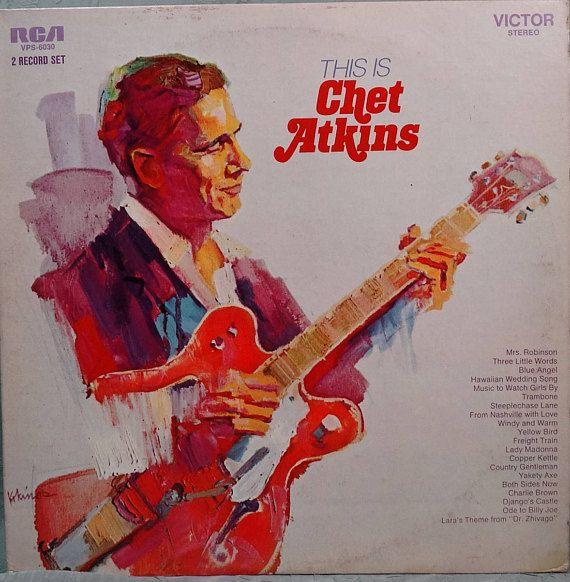 Chet Atkins  This Is Chet Atkins 1970  2 x LP Album Vinyl