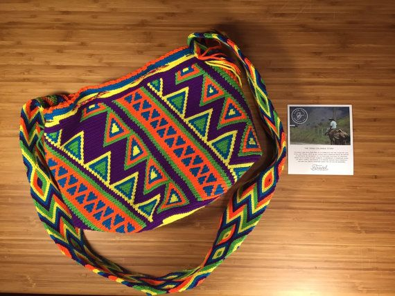 Wayuu Bag by GoodFeelSupplyCo on Etsy