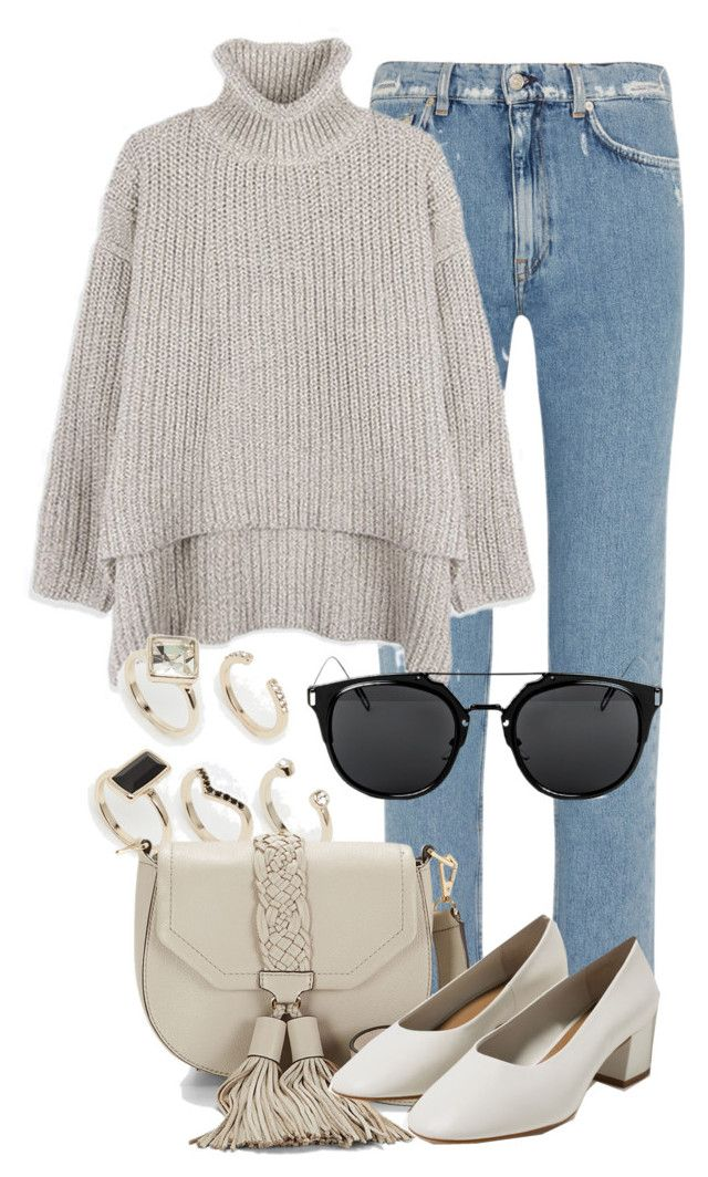 """Untitled #2302"" by annielizjung ❤ liked on Polyvore featuring Acne Studios, Oasis, Rebecca Minkoff and Zara"