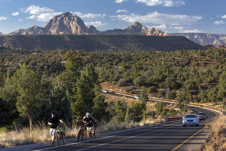 Red Rock Scenic Byway, Sedona, Arizona, United States. AECOM was responsible for the final engineering design and construction management for the reconstruction of this key scenic highway.