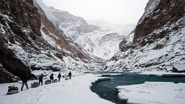 chadar trek - bucket list no.1