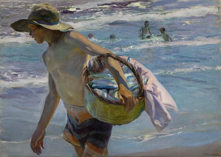 Joaquin Sorolla y Bastida  El Pescador, 1904 - This guy was so amazing!!
