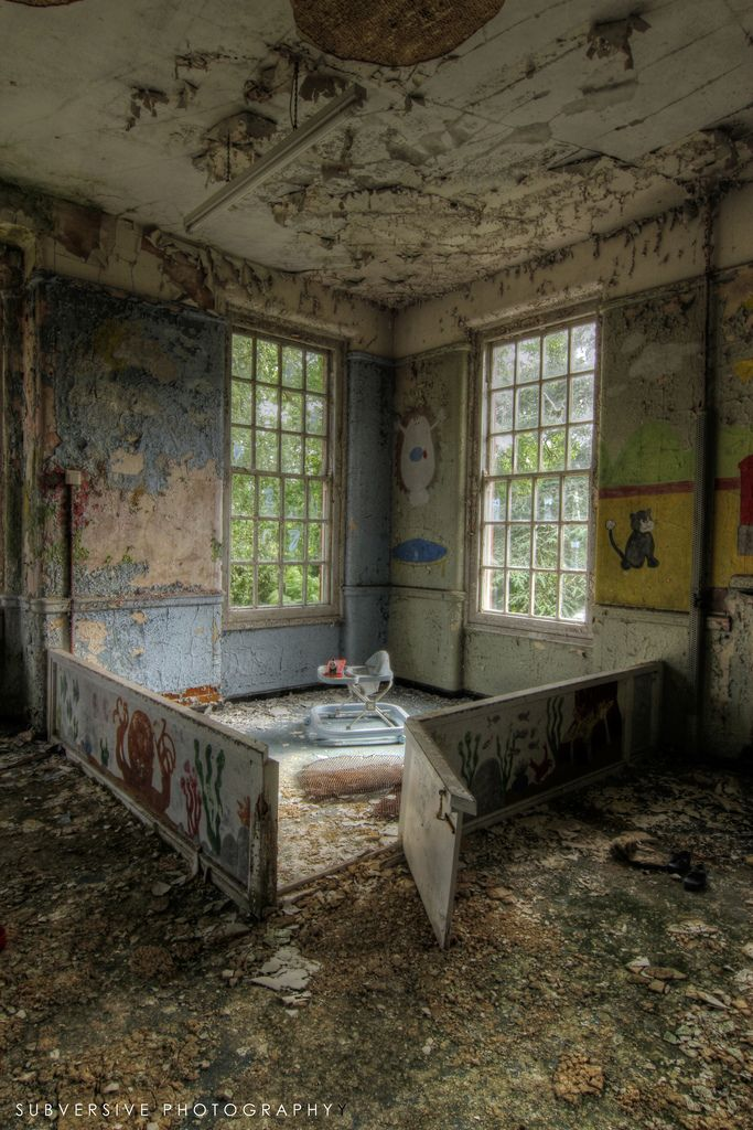 West Park Mental Hospital, England. Built in the 1920s.