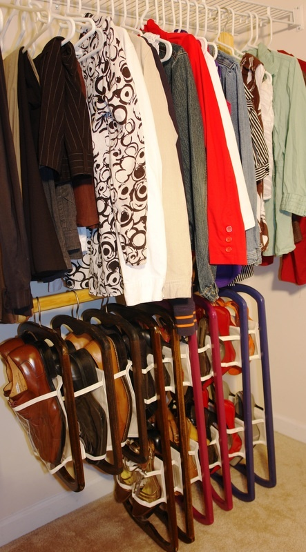 Donu0027t Have Enough Space In Your Closet? Use The Shoe Solutions Hanger  Extension