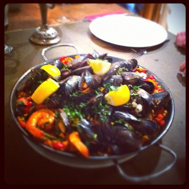 Not every #Paella comes out this good. But most do! at the Food at 52 #London #Kitchen