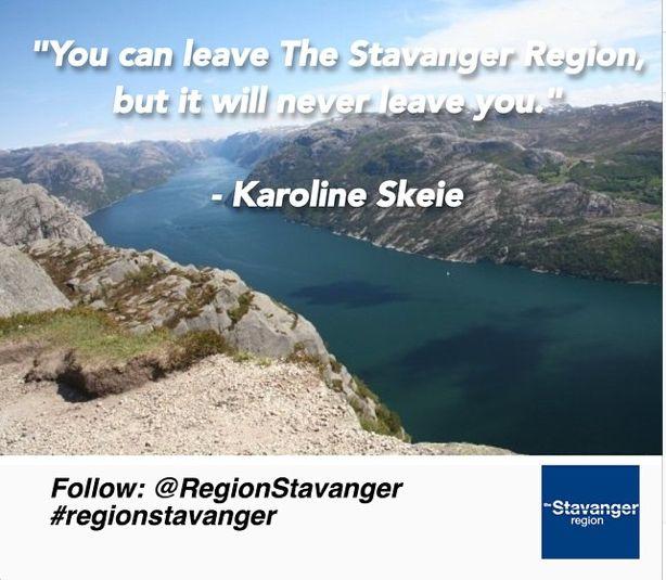 The Stavanger Region will never leave you! @Regionstavanger @travel