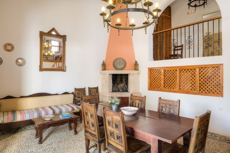 Traditional open plan Lindian living #Lindos #Rhodes #LindianCollection…