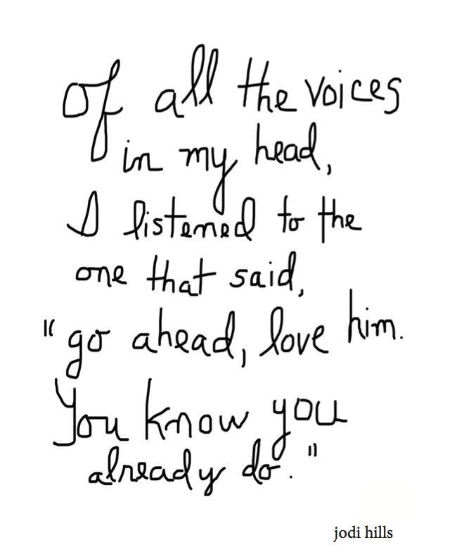 Of All The Voices In My Head