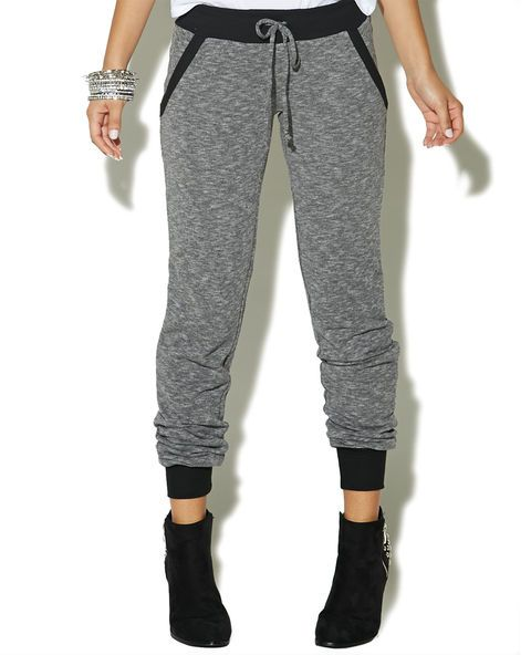 French Terry Jogger Pant  | Wet Seal
