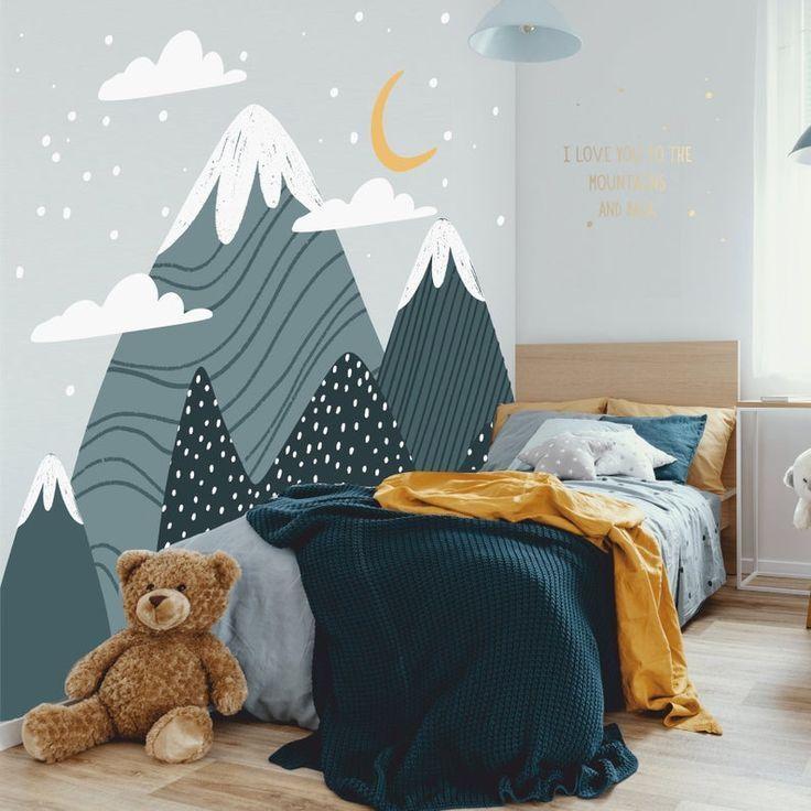 Ideen Fur Ein Originelles Kinderkopfteil Petit Small In 2020 Kinderzimmer Streichen Kinderschlafzimmer Kinder Tapete