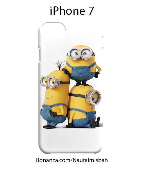 Funny Despicable Me Minions iPhone 7 Case Cover Wrap Around