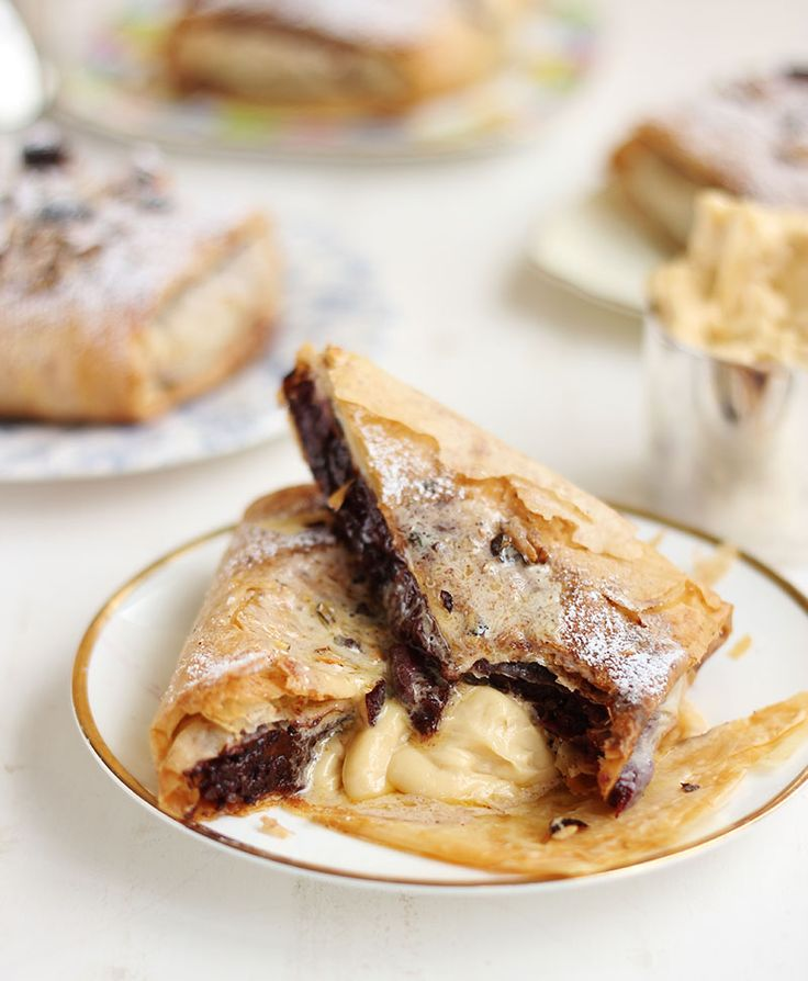 The 31 best leftover christmas pudding recipes images on pinterest leftover christmas pudding strudel with salted caramel rum butter forumfinder Gallery