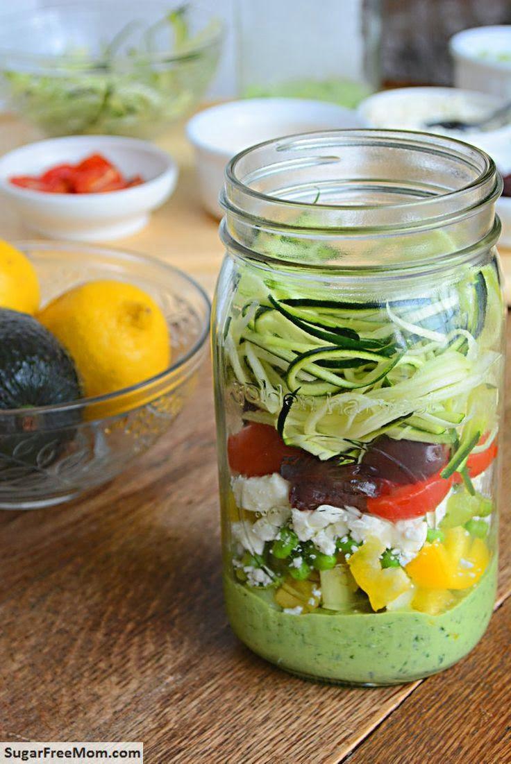 """Le """"M"""" Cronache: Gift in a Jar: l'insalata nel barattolo"""