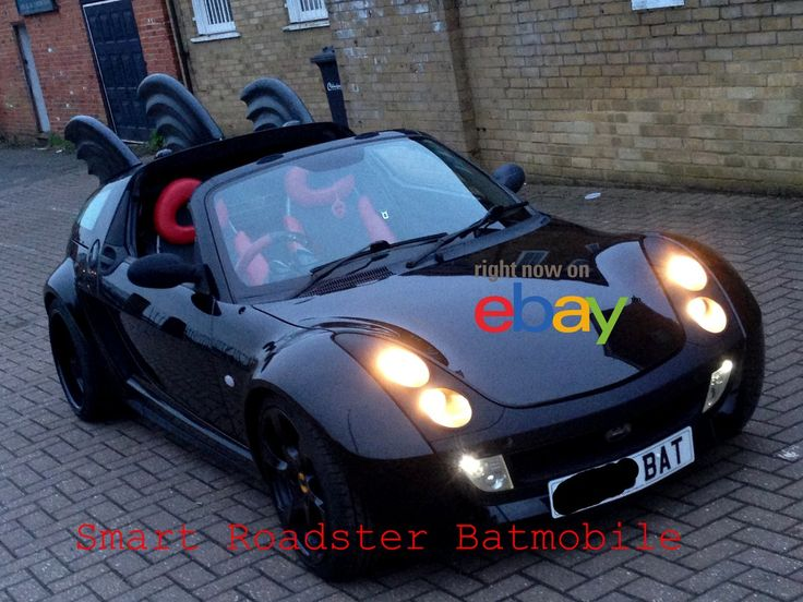 Selling our beloved #Batmobile #Batman will be sorry to see it go but #Batgirl is insisting... its no #joker. PLEASE SHARE and tag anyone that might be interested. #gotham #cosplay #DCcomics van Sadler Creative  http://www.ebay.co.uk/itm/SMART-ROADSTER-BATMOBILE-COUPE-2005-LOW-MILES-105-BHP-CONVERTIBLE-CAR-BATMAN-99p-/311809416624?hash=item48994a1db0:g:Z4EAAOSwtfhYr0BC
