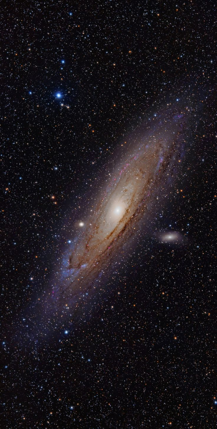The Andromeda Galaxy, also known as Messier 31 or NGC 224.  To learn more about galaxies, check out #Astronomy Is Awesome - http://astronomyisawesome.com/galaxies/whats-the-closest-galaxy-to-us/