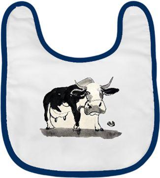 Üç ayaklı inek Kendin Tasarla - Bebek Önlüğü