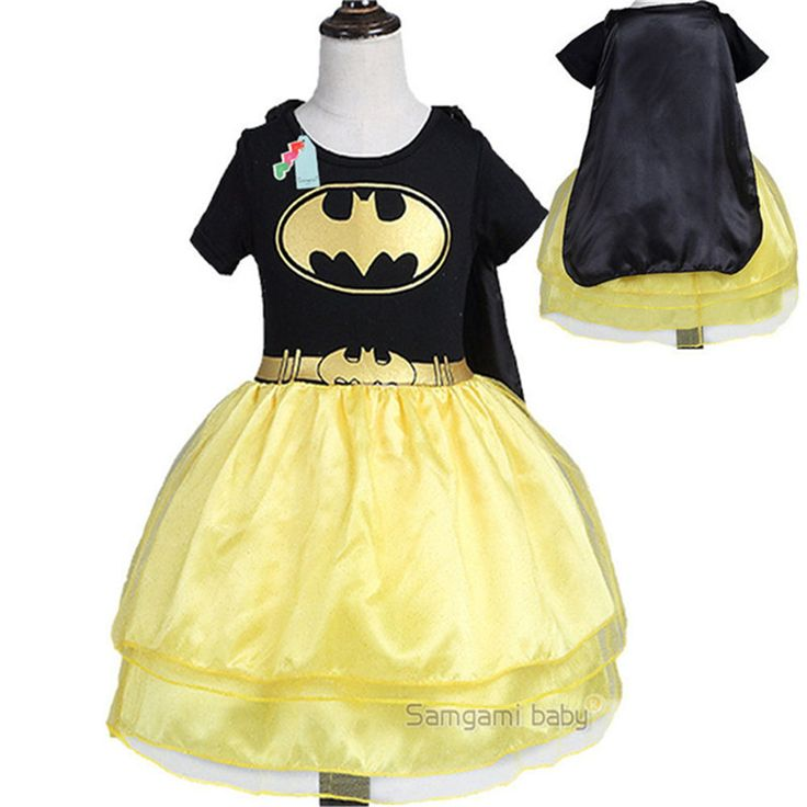 >> Click to Buy << TTN High Quality Cosplay Fancy dresses for girls Batman Dresses for Girls Party Princess's Dress Cartoon Costume #Affiliate