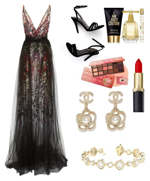"""""""I'm mad about you"""" by denisapurple on Polyvore featuring LULUS, Chanel and Juicy Couture"""