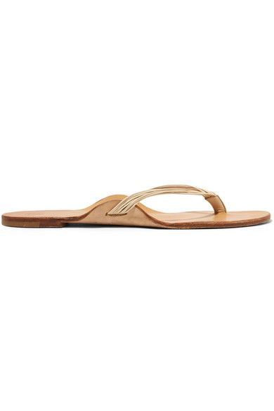 Heel measures approximately 10mm/ 0.5 inches Cream leather  Slip on Designer color: Moon Made in Italy