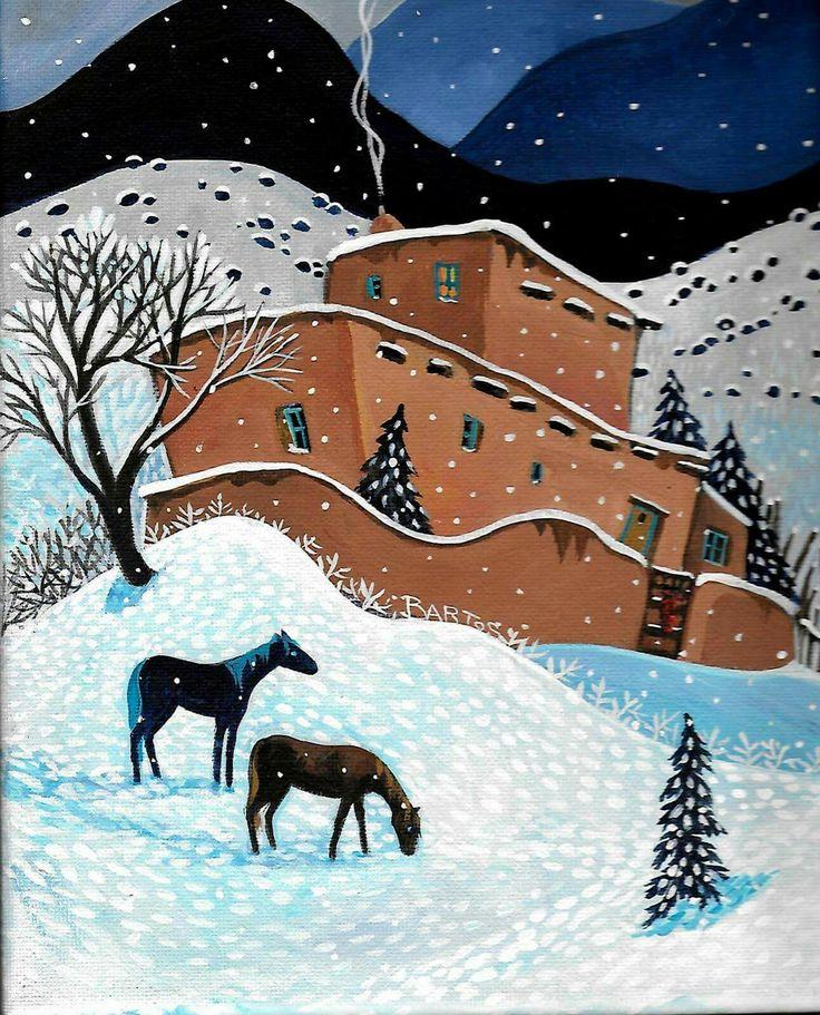 December night, sally bartos