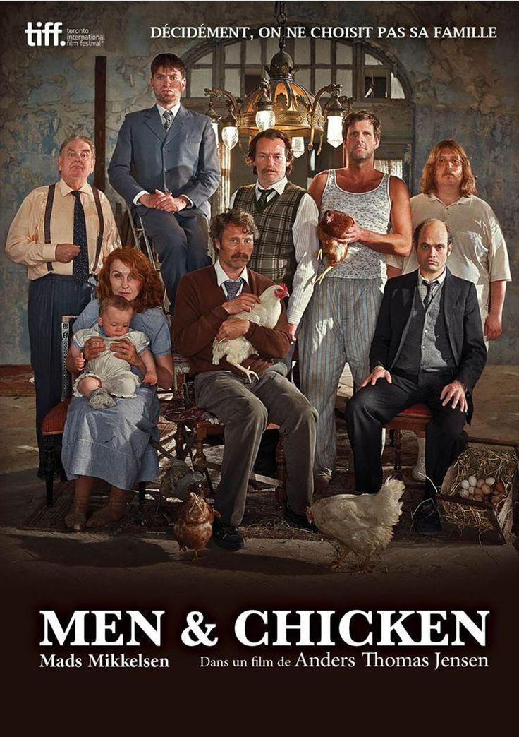 A l'occasion de la sortie EN SALLES LE 25 MAI 2016 de MEN & CHICKEN un film de Anders Thomas Jensen avec MADS MIKKELSEN, ELIAS DAVID DENCIK GABRIEL, NICOLAS BRO JOSEF, NIKOLAJ LIE KAAS GREGOR, …