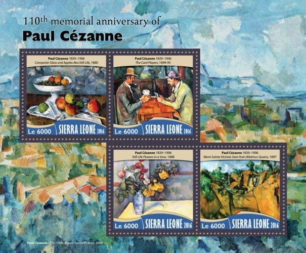 SRL16716a 110th memorial anniversary of Paul Cézanne (Pope Benedict XVI and Pope Francis; Pope Francis)