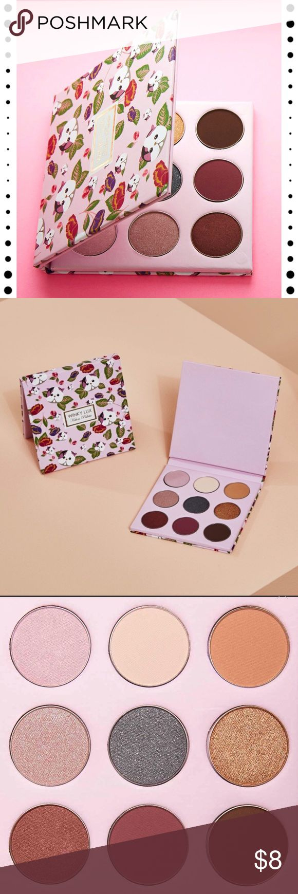 NWT Winky Lux Kitten Palette From Boxycharm  The Kitten Palette features highly-pigmented shadows in four finishes: holographic, matte, satin and glitter.  Cruelty Free 🐰 Paraben Free 🚫 Gluten Free 🍞 Made in the USA 🇺🇸  Never worn or swatched  Bundle and save 🛍🛍🛍 Winky Lux Makeup Eyeshadow
