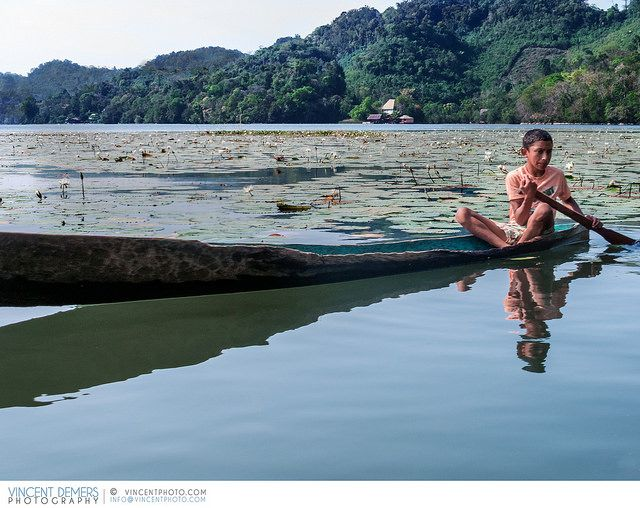 Boy in a boat on the Rio Dulce River in Guatemala | Flickr - Photo Sharing!