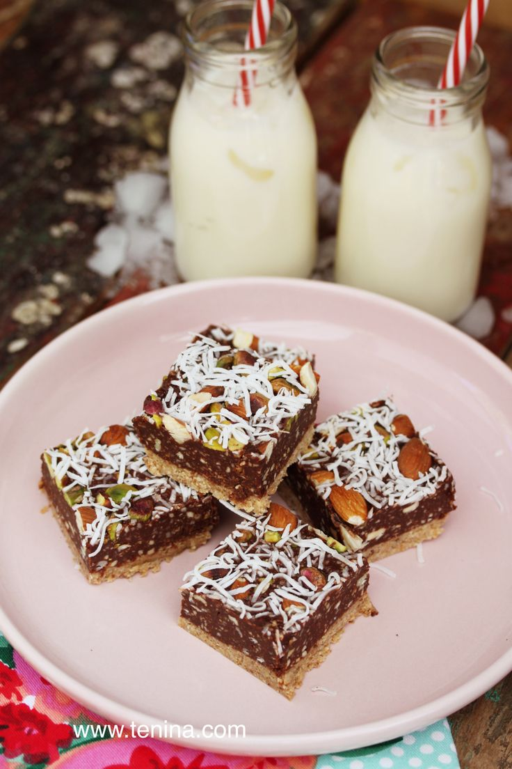The most delicious little guilt free raw brownie recipe out there. Creamy, chocolatey and RAW. Get it in you! Energy plus.