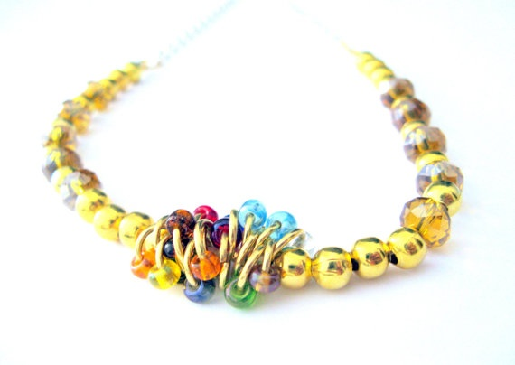 Ethnic necklace  by ckas
