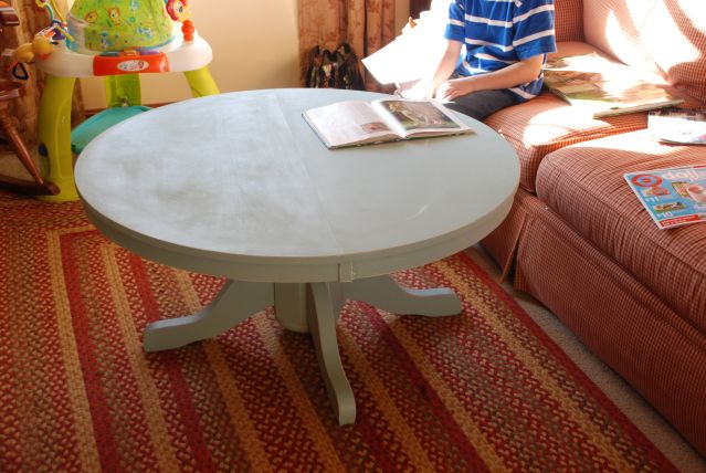 Pedestal Style Kitchen Table Cut Up And Turned Into A Coffee Table Pedestal Coffee And Kitchens