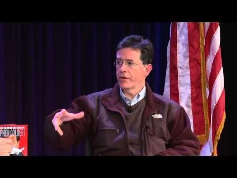 "Stephen Colbert | ""America Again: Re-Becoming the Greatness We Never Weren't"""