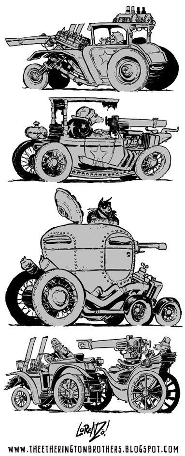 The Etherington Brothers: Weird War Machine Week part 1