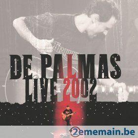 De Palmas Live 2002 - Double CD - A vendre