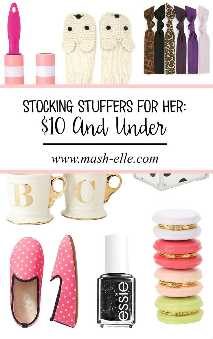 25 B Sta Stocking Stuffers For Her Id Erna P Pinterest