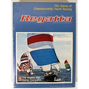 Avalon Hill Regatta the Game of Championship Yacht Racing board game