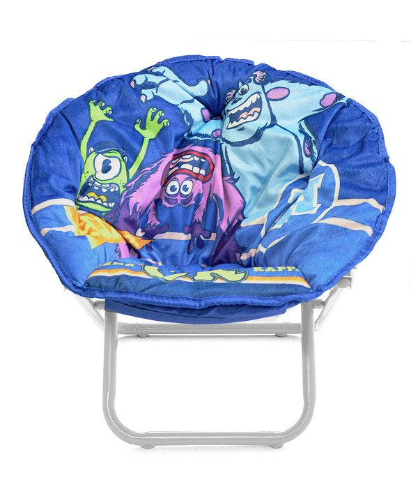 Take a look at this Monsters University Saucer Chair on zulily today!