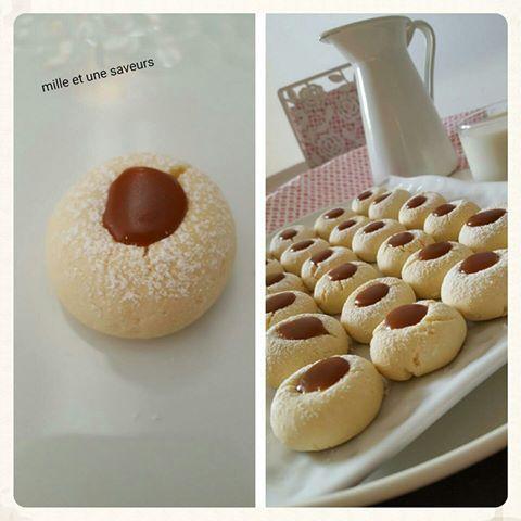 Bonjour, j'ai craquée pour ces biscuits fondants, recette approuvée pour son fondant et très gourmande. Ingrédients : 250 gr de beurre mou 110 gr de sucre glace2 sachets de sucre vanillé1 oeuf + 1 jaune d'oeuf75 gr de Maïzena1/2 sachet de levure chimique320...
