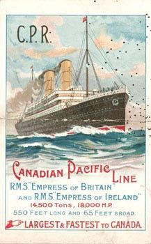 CP Ships - Canadian Pacific Steamships