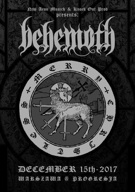 Heavy Metal Music & More  : Behemoth pierwszą kapelą na Merry Christless w War...