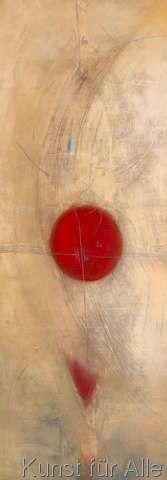 Carole Bécam - Triptyque rouge I