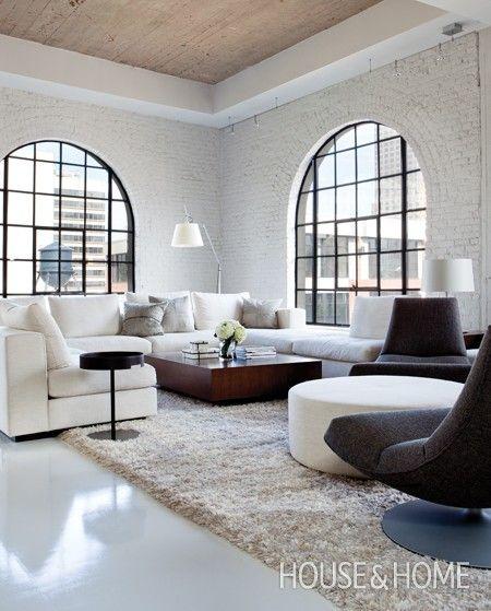 Modern Montreal Loft   House & Home