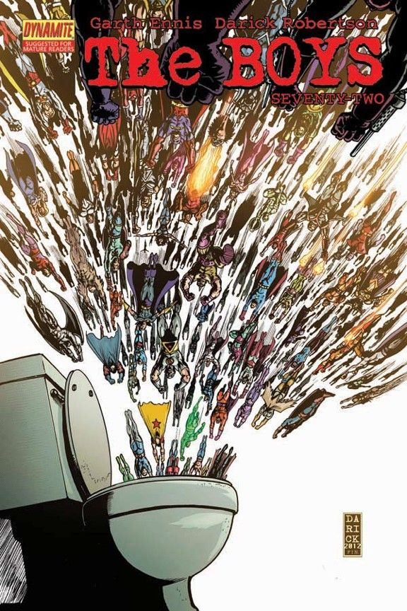 12 best comic book art images on pinterest comics graphic when dc comics cancelled garth ennis and darick robertsons the boys over a personal dislike fandeluxe Images